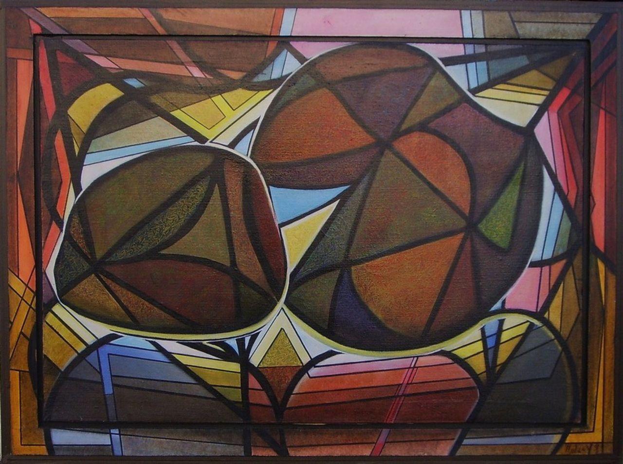 yves molac abstrait 1992