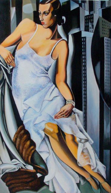 "reproduction de"" Tamara De Lempicka"""
